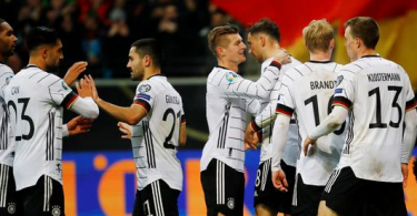 Germany squad for Euro Qualifiers